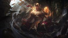 ArtStation - God Fist Lee Sin, Alex Flores