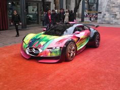 This is the car my brother in law should drive! He's an artist in NYC!