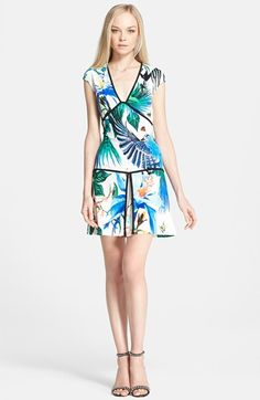 Roberto Cavalli Mystique Print Drop Waist Dress available at #Nordstrom.  My favorite dress,  I want it,