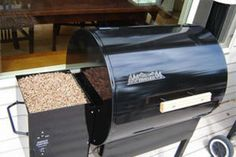 Trager Wood Pellet Grills!  Love these.  Food has never tasted so good.