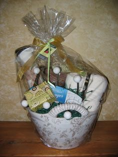 New Home Purchase Gift Basket (all household products)