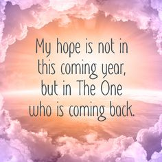 My hope is notCrystina #christian #comingback #comingyear #hope #jesus #newyear #one #quote #redemption #return