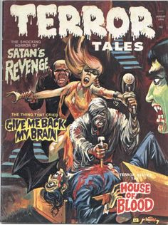 Cover for Terror Tales (Eerie Publications, 1969 series) #v6#4