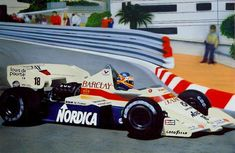Theirry Boutsen in the BMW-powered Arrows A7 - Monaco 1984