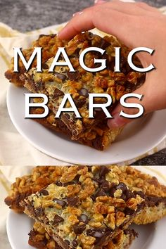 Also known as Seven Layer Cookies, or Hello Dolly cookies, these gooey treats combine coconut, choco Coconut Chocolate, Chocolate Desserts, Chocolate Chip Cookies, Pumpkin Chocolate Chips, Köstliche Desserts, Delicious Desserts, Dessert Recipes, Bar Recipes, Delicious Cookies