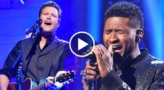 Bringing two superstars together that are successful in different genres always makes for a thrilling performance, and this duet by Blake Shelton and Usher...