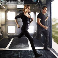 Shailene Woodley & Theo James. Divergent.
