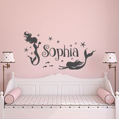Girl Wall Decal Name