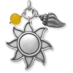 Summer Pendant with Chalcedony Bead in Charms Fall 2012 from James Avery Jewelry on shop.CatalogSpree.com, my personal digital mall.