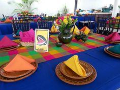 Centro de mesa boda mexicana