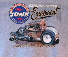 Genuine Speed Equipment Hot Rod Car Mens Quality T Shirt