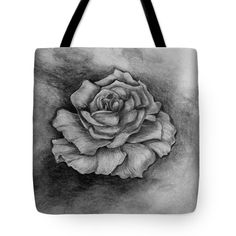 Single Rose Tote Bag for Sale by Faye Anastasopoulou Fusion Art, Theme Pictures, Thing 1, Single Rose, My Themes, Design Patterns, Basic Colors, Poplin Fabric, Bag Sale