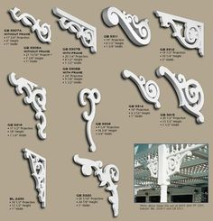 Simple Victorian detail- very important on the porch for a victorian home