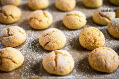 Polenta cookies gluten free | My Little Italian Kitchen