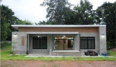 แบบบ้านโมเดิร์นลอฟท์ชั้นเดียว 3 ห้องนอน 2 ห้องน้ำ พื้นที่ใช้ชีวิตเรียบง่าย พร้อมมุมพักผ่อนรับบรรยากาศนอกบ้าน | NaiBann.com