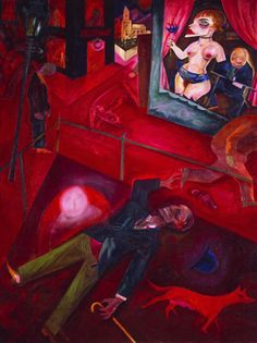 George Grosz - great exhibit at the Dallas Museum of Art last weekend. I'm obsessed.