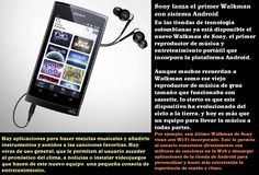 El Walkman con dispositivo Android