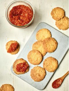 A brilliant snack for kids and adults alike, Nadiya Hussain's cheese biscuits, as seen on her BBC series, Nadiya's Family Favourites are an easy cheesy delight. Savoury Biscuits, Cheese Biscuits, Savoury Baking, Savoury Pies, Savoury Recipes, Jam Recipes, Baking Recipes, Clean Recipes, Salad Recipes