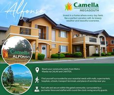 Camella Alfonso is your perfect home vacation reprieve in Cavite. This pioneer master-planned township gives you the best of your investment with its luxurious Tagaytay breeze and sceneries.  #CamellaMegaSouth #CamellaAlfonso #FourDecadeFavorite Tagaytay, Beautiful Scenery, Manila, Breeze, Transportation, Investing, Posts, Vacation, How To Plan