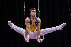 Boys Gymnastics, Artistic Gymnastics, Olympic Gymnastics, Olympic Sports, Sam Mikulak, Athletic Supporter, Athletic Men, Mens Leotard, Gymnastics Flexibility