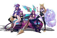 𝓛𝓲𝓷 - League of Legends League Of Heroes, Lol League Of Legends, Bambi, Neko, Anime Nerd, Fan Art, Kawaii Anime, Ancient Symbols, Fantasy Art