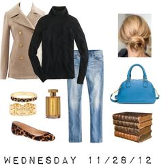 """""""OOTD 11/28/12"""" by jcrewcrazy ❤ liked on Polyvore"""