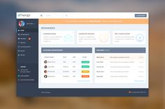 absolutely gorgeous dashboard interface for a software application Dashboard Interface, Web Dashboard, Dashboard Design, Ui Web, Design Web, App Ui Design, Interface Design, Survey Design, Mobile Application Design