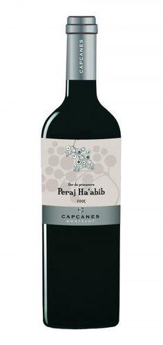 Vino kosher (puro).  Peraj Ha'abib. Elaborado por Bodegas Capçanes en la comarca del Priorato.