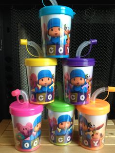 Pocoyo Personalized Birthday Party Favor by CreativeLaminations2