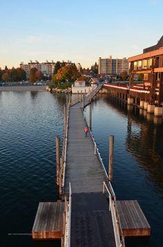 boardwalk, world's longest, couer d'alene, northern idaho, free things to do in idaho