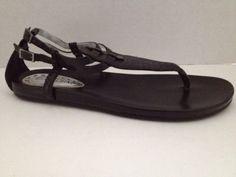 Gianni Bini #Sandals Womens Size 9 M Shoes Black 9M Leather Brazil  #GIANNIBiNI #AnkleStrap