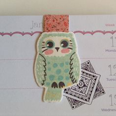 This cute owl magnetic bookmark is available! Link to shop in bio. 189/365  #etsy #etsy365 #etsyshop #etsyseller #owl #magnetic #bookmark #planner #plannerlove #planneraccessories #filofax #filofaxlove #filofaxaddict #planneraddict #cute #handmade #handmadeisbetter #designedbyanneliese #paperproducts #papergoods #available #getitnow #instore #onlineshopping by designedbyanneliese