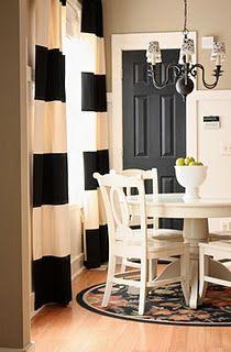 Painting my doors black this weekend! Looking forward to it...