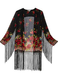 I found piano shawl just like this in NoLa, so wished I had bought it.