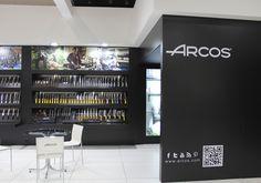 Stand diseñado, construido y montado para Cuchillos Arcos en Ambiente 2014