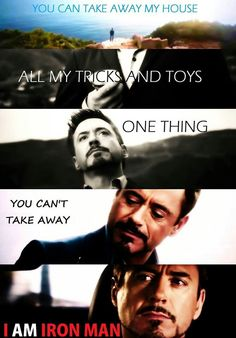 """""""Tony Stark will return."""" If you didn't watch all the way through the credits, you missed this!"""