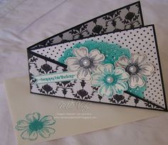 """Stamp Set - Flower Shop, Express Yourself  """"Twisted Card""""  Stampin' Up!®"""
