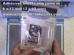 Brother ScanNCut Glitter Card Tutorial A silver anniversary card