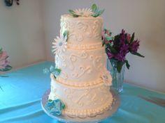 Wedding Cake by Patisserie at The Matthews House. #weddingcakes
