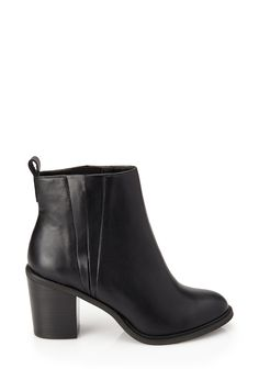 It's hard to say no to a pair of booties this on-trend and simple. For 37 dollars, it's an absolute steal! via @stylelist