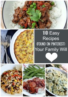 10 Easy Recipes Your Family Will Love