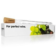 Insertable Ice Bucket - no room in the fridge to chill all your wine? Keep wine chilled from within.