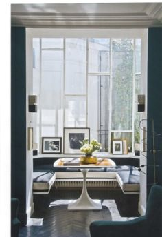 Parisian apartment, designed by antiques dealer Florence Lopez for Charlotte Gainsborough and her artist husband.