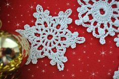 5 Free Crochet Snowflake Patterns