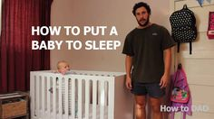 This dad knows the struggles of trying to put a baby to sleep all too well. And when he gives others some funny advice, you'll be cracking up in no time. What other parents can relate to nights lik. Parenting Teens, Parenting Humor, Funny Babies, Funny Kids, Humour Parent, Putting Baby To Sleep, Parents, Stress, Dad Humor