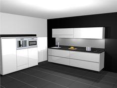 Zwevende keuken en keukenkasten - Tieleman Keukens
