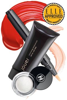 """Romy Soleimani's Kit  """"I've painted the whole face—lips, cheeks, eyes—with Lip Tar,"""" a highly pigmented gloss by  Obsessive Compulsive Cosmeticss;  Jouer Luminizing Moisture Tint boasts SPF protection and a water-resistant formula; for """"hands down the best coverage,"""" try  Kanebo Sensai Concealer; Soleimani uses  Chanel Illusion D'Ombre eye shadow in Fantasme """"as a highlighter on the inner corner of the eye.""""   - ELLE.com"""