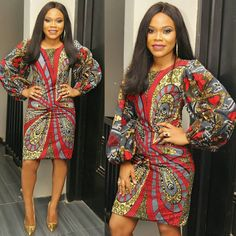 If yes, try some of the latest Ankara styles we have lined up for you today. They are sexy, sassy and look absolutely gorgeous. Amazing is the world of Ankara fashion with the rate at which new styles are coming in vogue. In 2017 only African Attire, African Wear, African Women, African Style, African Suits, Ankara Styles For Men, Latest Ankara Styles, African Print Dresses, African Dress