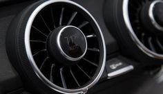 Genius Engineering: Integrated HVAC controls in the air vents [Audi's Virtual Cockpit Is The Amazing Future Of Automotive Infotainment].