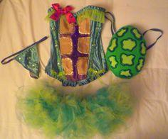 Sexy Ninja Turtle Halloween costume